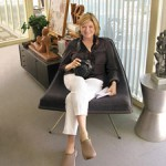 Martha Stewart on a 'Winnipeg Chair'