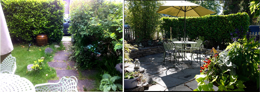 Before and after my garden - Garden design before and after ...