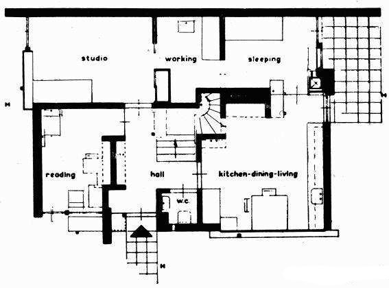 Rietveld_Schroder_House_Ground_Plan