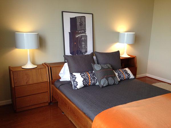 midcent bedroom