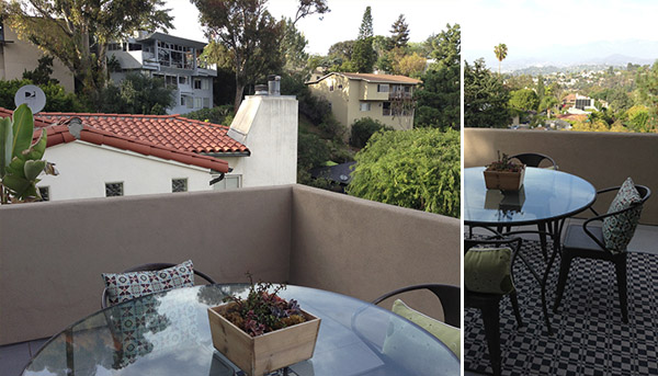 silverlake view and table