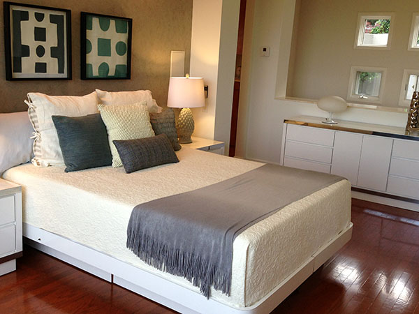 white bedroom full